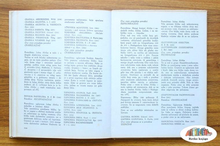 prikaz i opis vrsta sukulenata