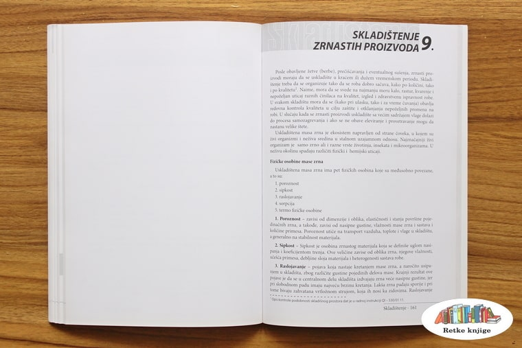 poglavlje o skladištima za ratarske kulture