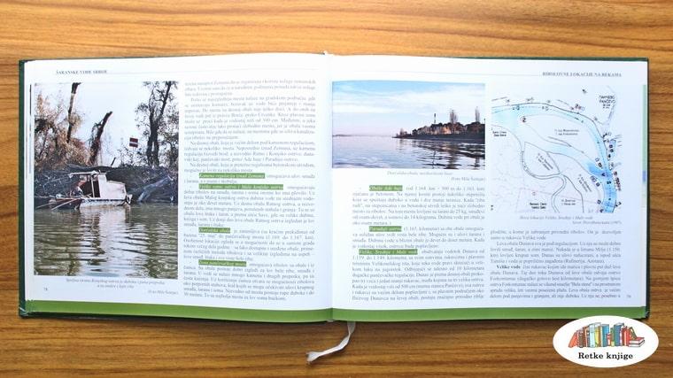 deo nautičke mape i opis mesta na Dunavu