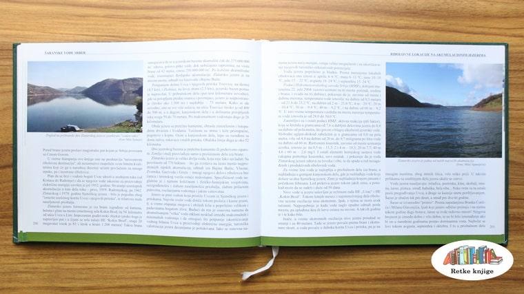 opis srebrnog jezera i mesta na njemu za ribolov