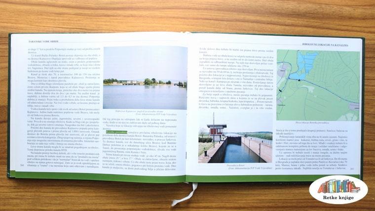 o ribolovu na kanalima i prikaz mape južne Bačke
