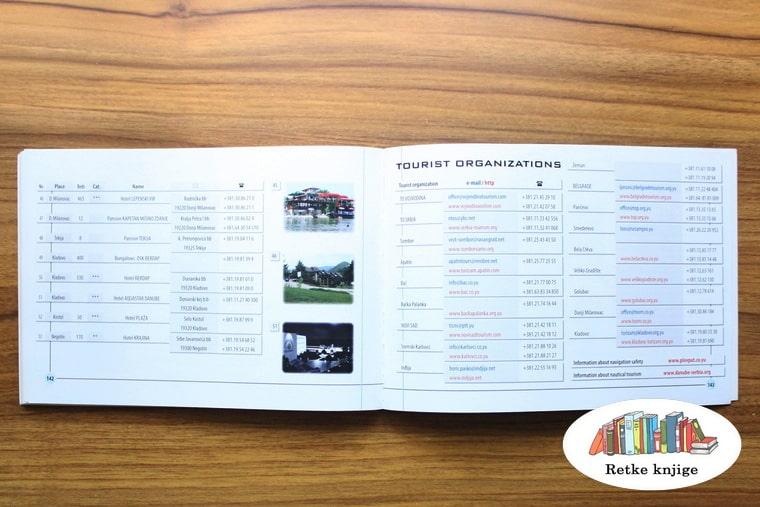 prikaz turističkih organizacija uz dunav