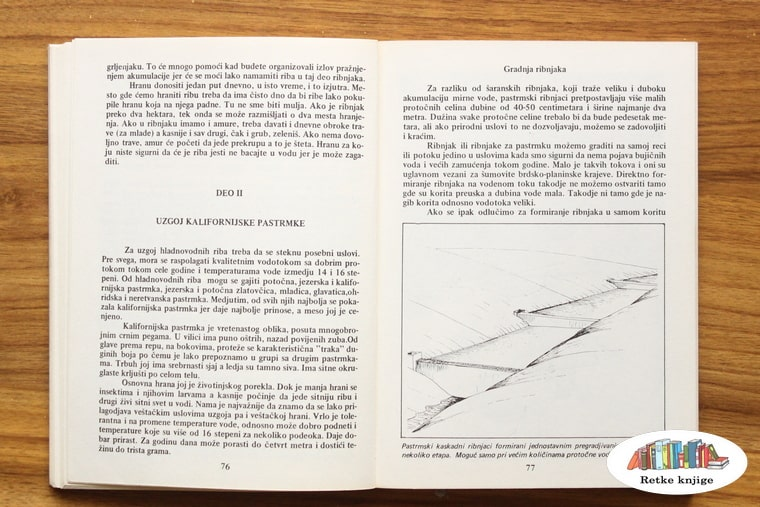 prikaz pastrmskog ribnjaka