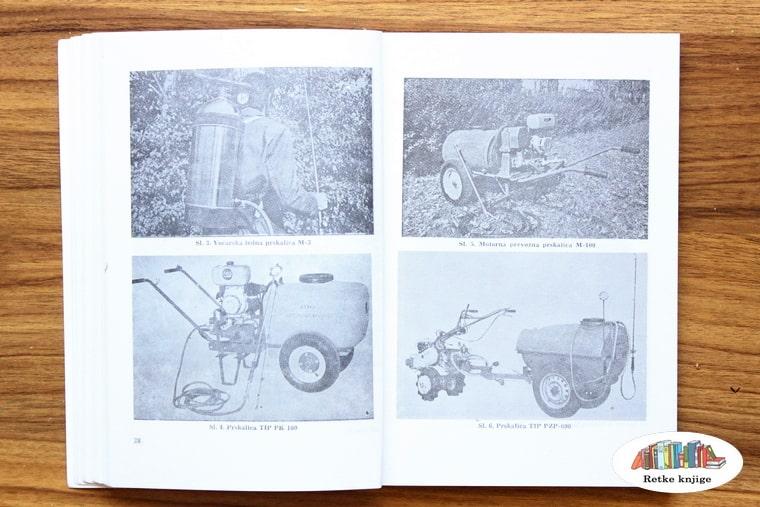 prikaz manjih mašina koje se koriste u voćnjaku - fotografije
