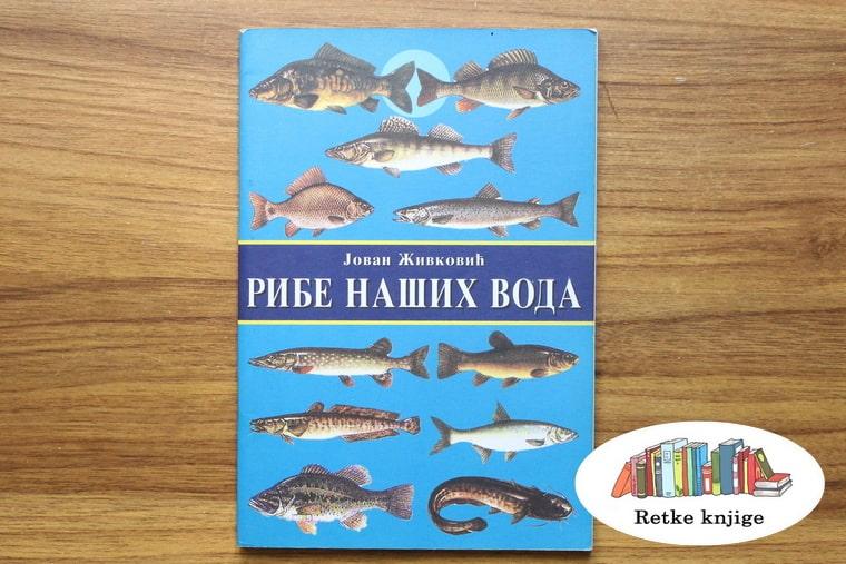 prednja korica priručnika o vrstama riba