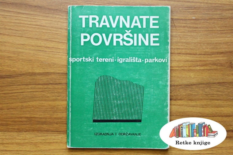 prednja korica knjige Travnate površine