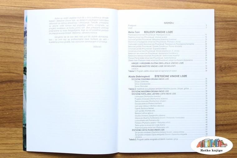 prikaz sadržaja knjige