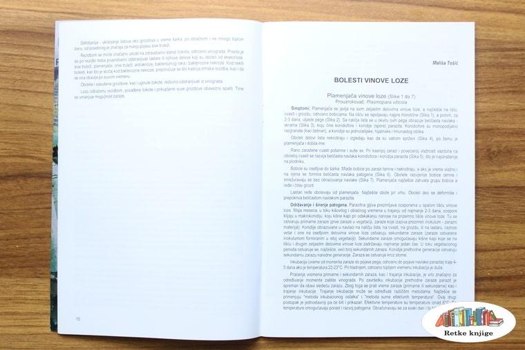 poglavlje o bolestima vinove loze